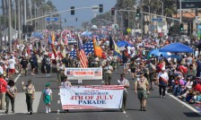 The start of the 113th annual Huntington Beach 4th of July Parade on Pacific Coast Highway on Tuesday, July 4, 2017. (Photo by Jeff Gritchen, Orange County Register/SCNG)